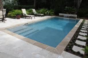rectangle swimming pool design built by aqua blue pools