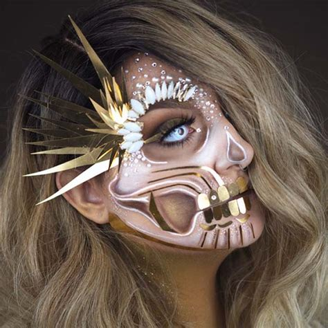 skeleton makeup ideas  halloween page