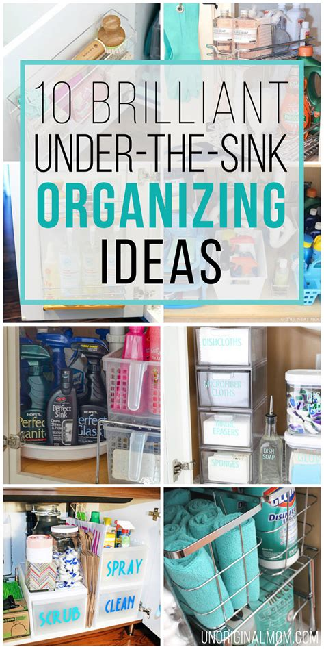 bathroom sink organization ideas 10 brilliant the sink organization ideas