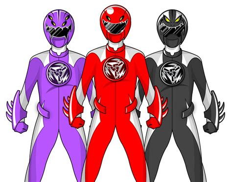 Power Ranger Set 4 Original original power rangers by enker on deviantart