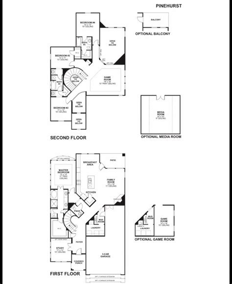 best mi homes floor plans new home plans design