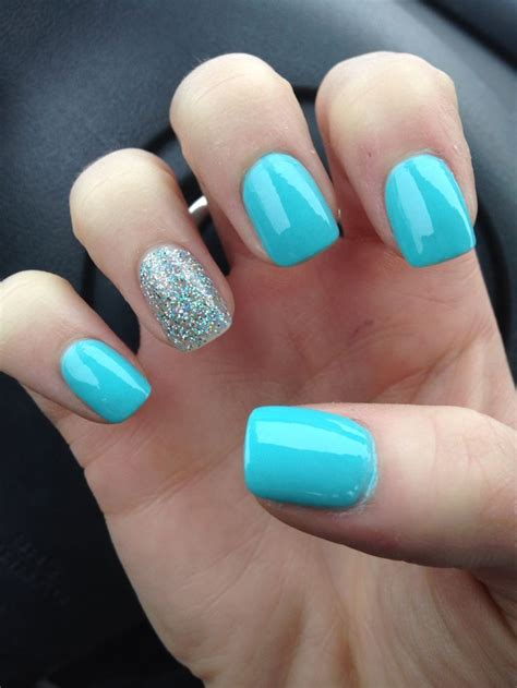 easy nail art blue and white 65 most stylish light blue nail art designs