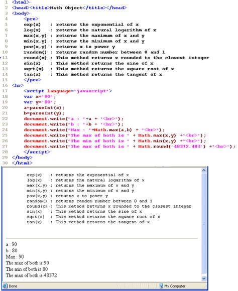 Javascript Mat by The Open Source Tutorials Benefited By Millions