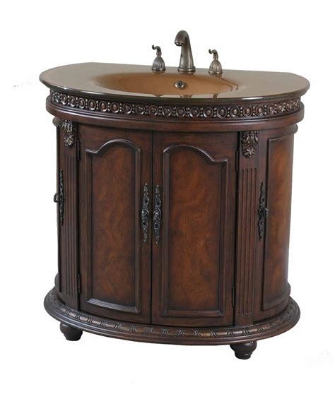 Ultimate Accents Vanity by Ultimate Accents Half Walnut Vanity Sink 13604s