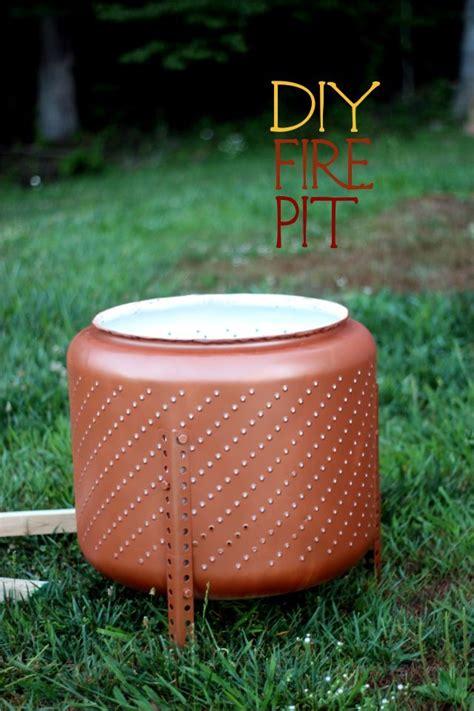 diy pit washing machine build a portable pit from an washing machine drum diy firepit