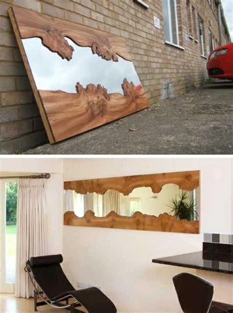 diy badezimmerspiegel rahmen ideen diy moebel kreative wohnideen spiegel mit rahmen aus holz