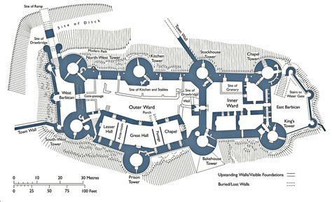 beaumaris castle floor plan conwy castle google da ara fortifications pinterest