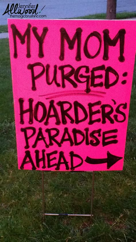 Where To Advertise Garage Sales by How To Advertise For A Garage Sale With Clever Signs
