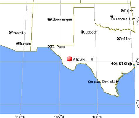 alpine texas map alpine texas map