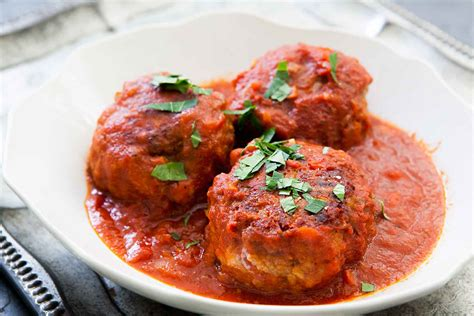 Meatloaf Recipe italian meatballs recipe simplyrecipes com