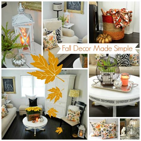 Easy Decorating Ideas by Simple Easy Affordable Decorating Ideas For Fall Fox