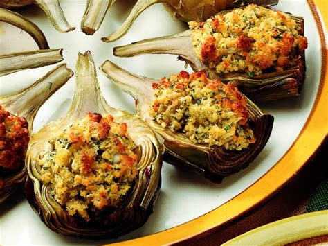cucina carciofi ripieni ricetta mezzi carciofi ripieni al forno le ricette de la