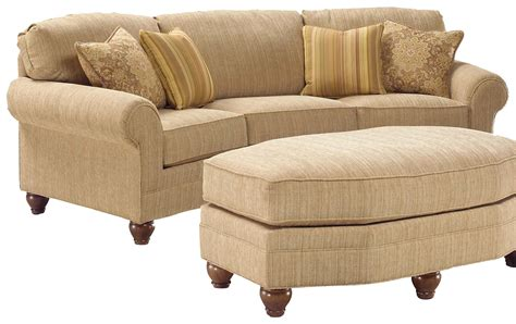 ottoman couch how handsome your furniture conversation sofas sectionals living room curved couches