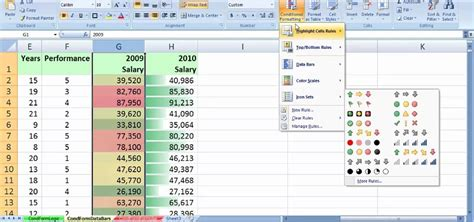 conditional format excel 2007 entire row excel 2010 conditional formatting 5 color scale excel