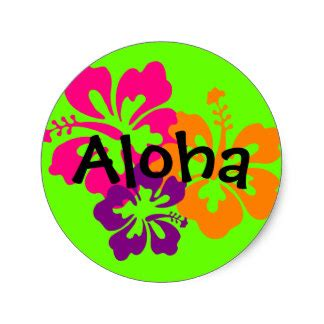 Sticker Hawaiano
