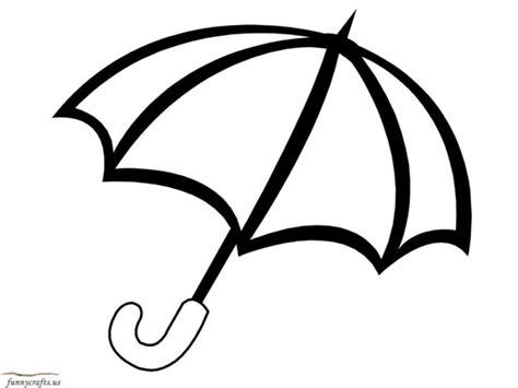 umbrella top coloring page umbrella colouring page clipart best