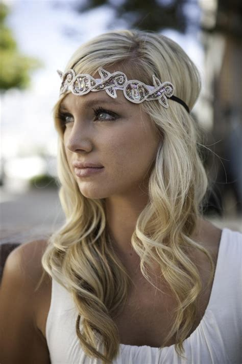 Vintage Wedding Hairstyles With A Headband by Hairstyles Using Headbands Vintage Forehead Bridal