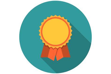 award ribbons flat icon icons creative market