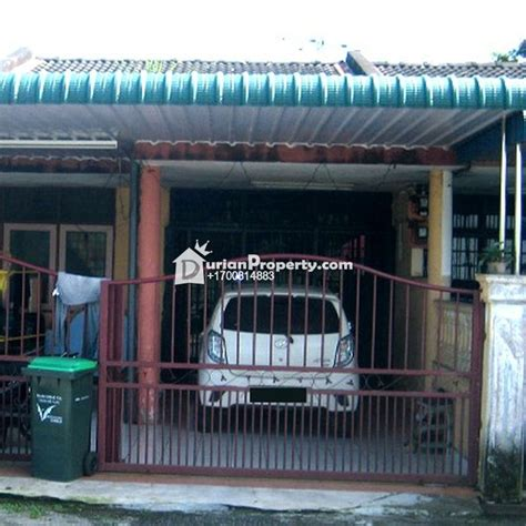 lunas house terrace house for auction at lunas kedah for rm 110 000
