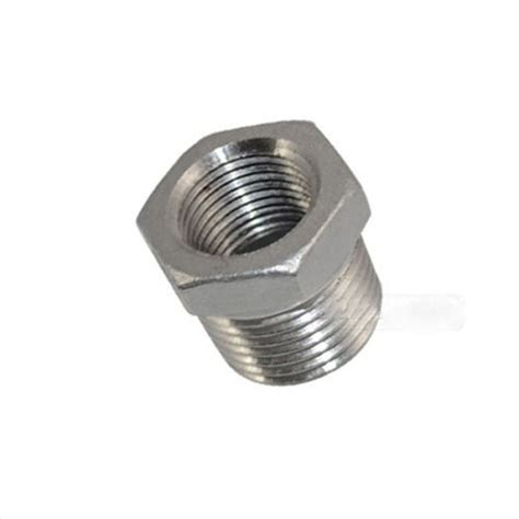 l fitting reducer 1pc 1 2 quot male x 3 8 quot female thread reducer bushing pipe