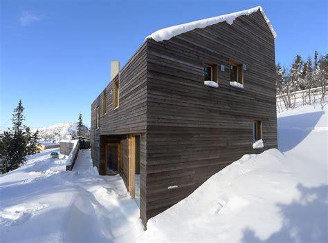 Ski Cabin Design by Snow Ski Home In Kvitfjell Twisted Cabin