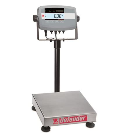 ohaus bench scale ohaus defender 174 5000 bench scale d51p10qr1