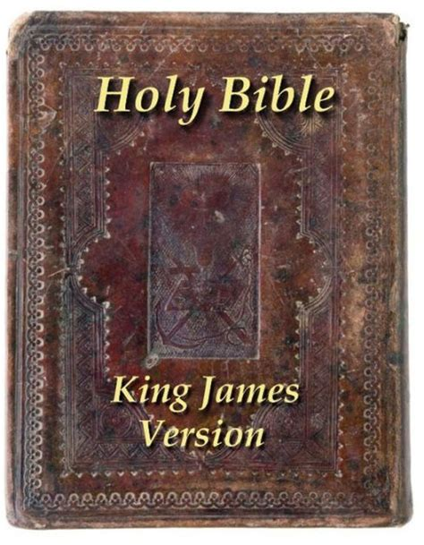 Bible Barnes And Noble The King James Holy Bible By Simon Abram Nook Book