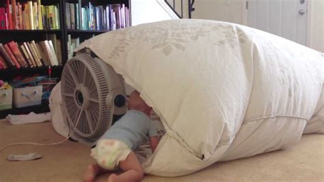 blanket bed fan fan blanket fort