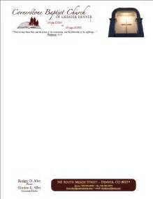 church letterhead template church letterhead survey