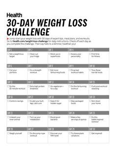 30 Day Detox Weight Loss Plan by Diet Challenge On Weight Simulator