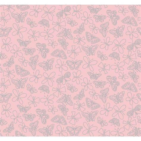 pink wallpaper home depot york wallcoverings glitter butterfly wallpaper pw4024