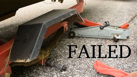 pedal boat upgrades the day that was not harbor freight boat trailer failed