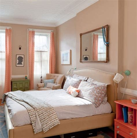 peach colored bedrooms spicer bank by allison egan chic color combo indigo