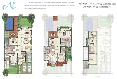 Modern Villa Plans by Modern Villa Floor Plan Ahscgs Com