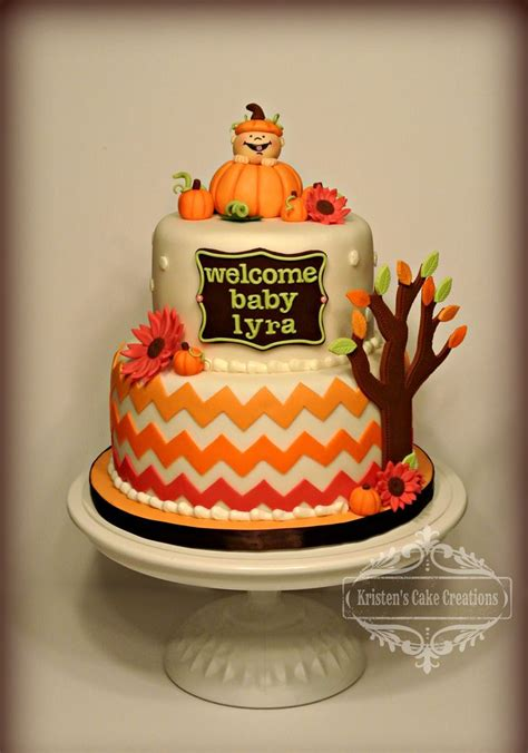 Fall Baby Shower Cake Ideas by 1000 Ideas About Chevron Cupcakes On Chevron