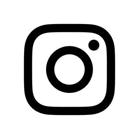 black  white instagram logo transparent pictures  pin
