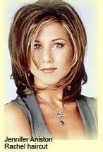 pictures of women wearing the rachel haircut during the 1990s shoulder length hair with layers and