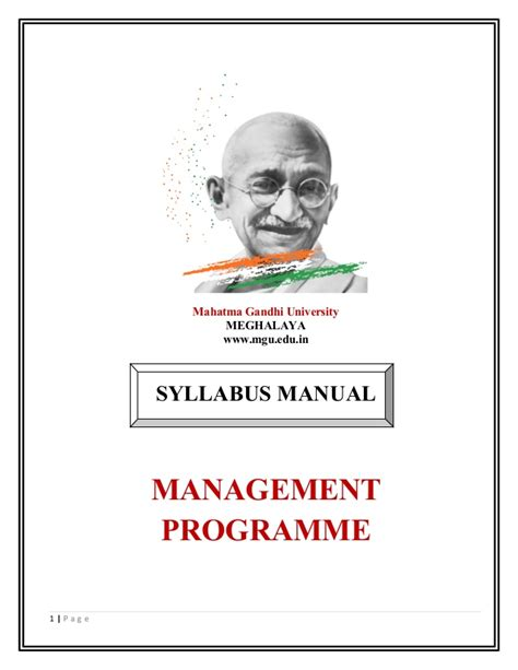 Mgu Mba Syllabus by Advance Diploma In Hotel Management