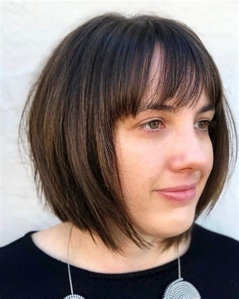 deconstructed bob hairstyle 30 top fringe bangs trending in 2018