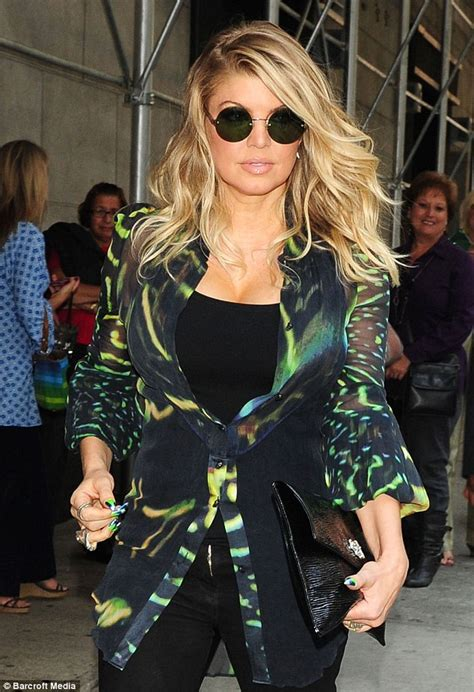 Fergie Not Yet Reproducing by Fergie Puts Pregnancy Rumours To Weight Gain As She