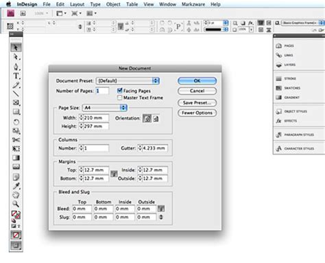 tutorial indesign cs4 indesign cs4 differences to indesign cs3 and cs2