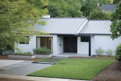 1950 ranch house renovations renovation of 1950 s ranch house charlotte north carolina architect matt benson