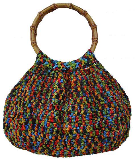 crochet ribbon bag pattern incredible purse crochet pattern pdf