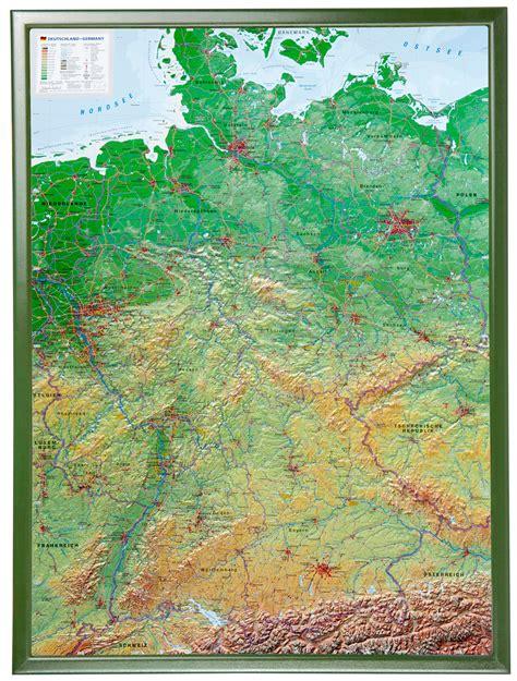 Deutsches Büro Grüne Karte Fax by Reliefkarte Deutschland In 3d Ab 14 95 Georelief