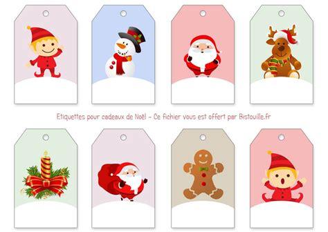 Etiquettes Cadeau Noel by 201 Tiquettes Pour Cadeaux De No 235 L 224 Imprimer Et 224 D 233 Couper