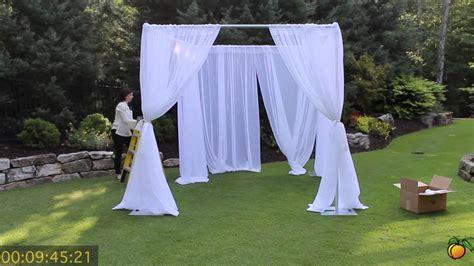 georgia expo pipe and drape wedding canopy georgia expo pipe and drape creating a