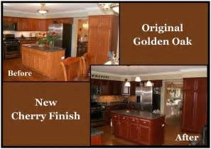 Refinishing Golden Oak Kitchen Cabinets by Beach House With Classic Coastal Interiors House Design