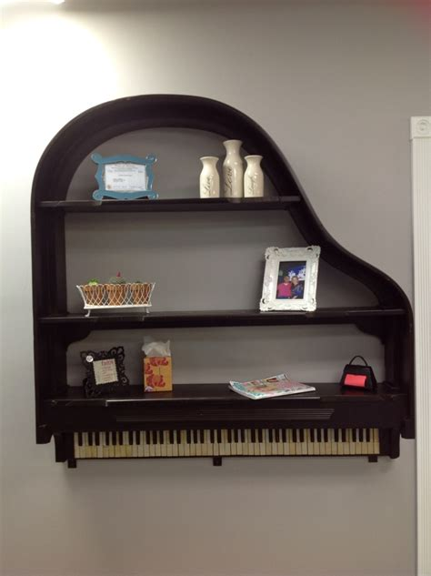 The Shelf by Piano Shelf The Pair