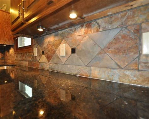 slate tile kitchen backsplash tile backsplash designs studio design gallery best