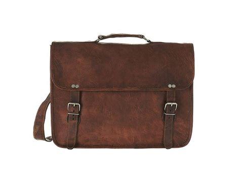 leather laptop bag leather laptop bag with handle by vida vida notonthehighstreet
